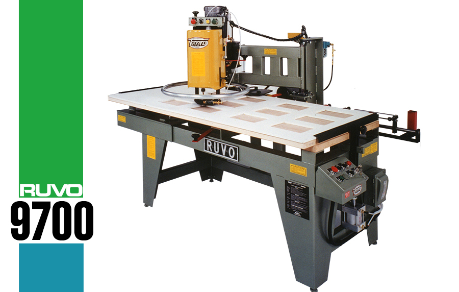 9700 Versatile Door Lite Cutter. This ...  sc 1 st  RUVO Door Machines & 9700 Versatile Door Lite Cutter
